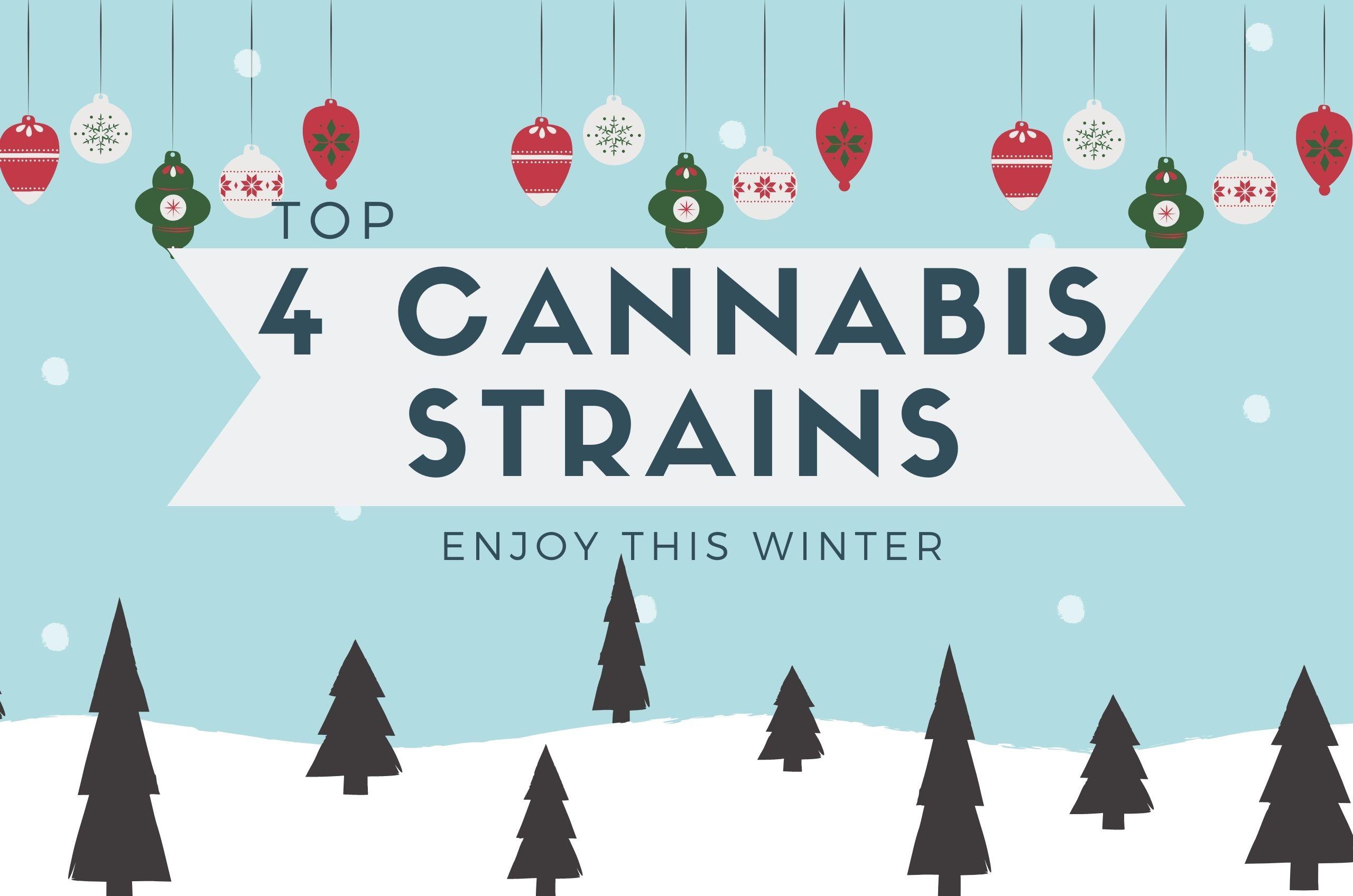 Top 4 Marijuana Strains to Enjoy This Christmas